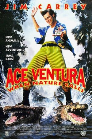 Ace Ventura: When Nature Calls - Theatrical release poster