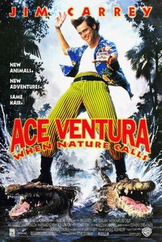 Ace Ventura: When Nature Calls - Theatrical release poster