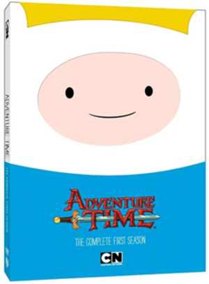 Adventure Time (season 1) - DVD cover