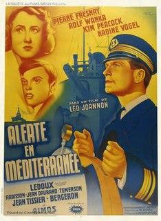 <i>Alert in the Mediterranean</i> 1938 film by Léo Joannon