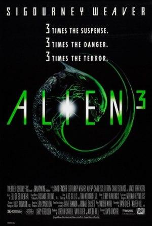 Alien 3 - U.S. theatrical release poster