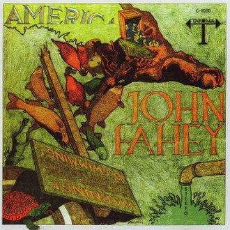 America (John Fahey album) - Image: America John Fahey