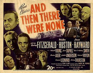 And Then There Were None (1945 film) - American film poster