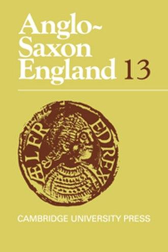 Anglo-Saxon England (journal) - Image: Anglo Saxon England (journal)