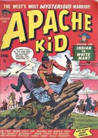 Apache Kid (comics) - Image: Apache Kid 2