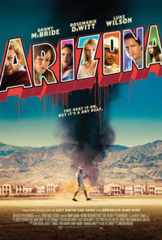 Arizona (2018 film) - Theatrical release poster