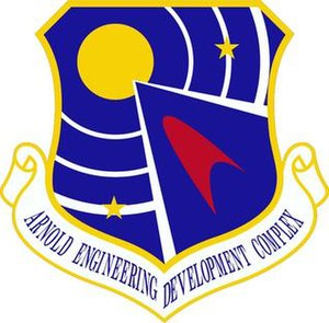 Arnold Engineering Development Complex - Image: Arnold Engineering Development Complex shield emblem