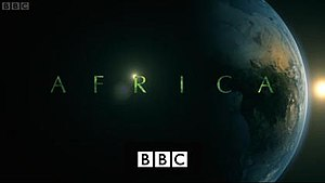 Africa (TV series) - Series title card from UK broadcast