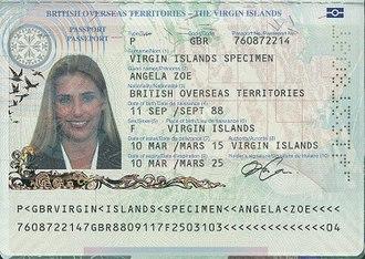 British passport (British Virgin Islands) - Virgin Islands passport information page