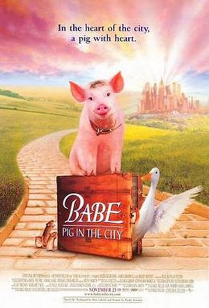Babe: Pig in the City - Theatrical release poster