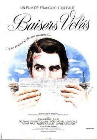 Stolen Kisses - Original film poster