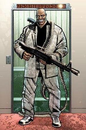 Barracuda (comics) - Image: Barracudapunisher