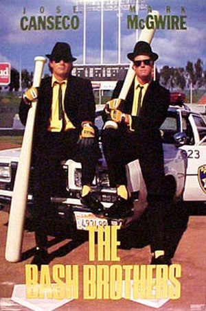 "Bash Brothers - Poster for ""The Bash Brothers"" was a takeoff from The Blues Brothers"