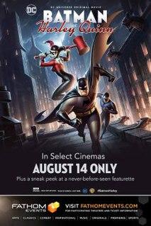 <i>Batman and Harley Quinn</i> 2017 film directed by Sam Liu