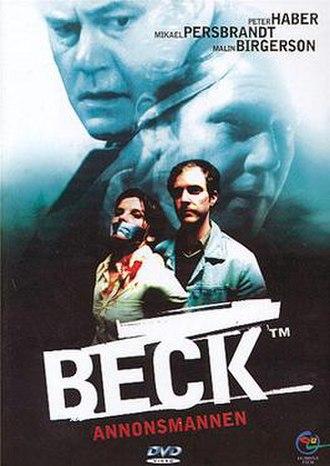 Beck – Annonsmannen - Swedish DVD-cover