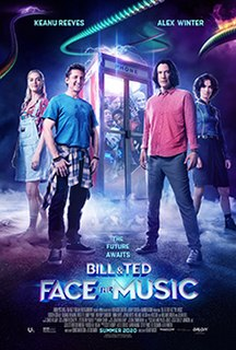 <i>Bill & Ted Face the Music</i> 2020 science fiction comedy film