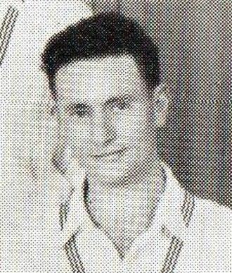 Bill Bell (cricketer) - Bill Bell in 1953