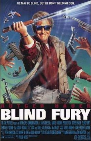 Blind Fury - Theatrical release poster