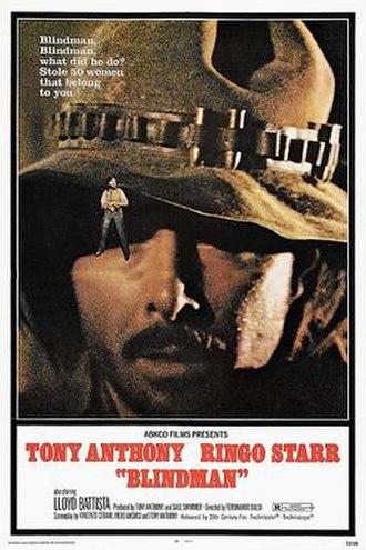 Blindman - US film poster