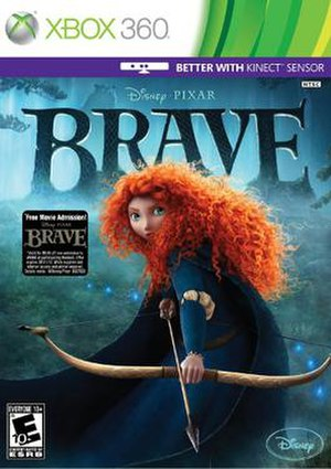 Brave (video game) - Xbox 360 cover art