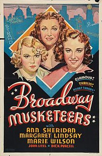 <i>Broadway Musketeers</i> 1938 film by John Farrow