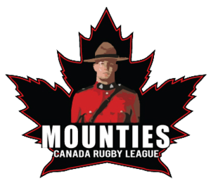 "Canada national rugby league team - The briefly used ""Mounties"" 2010 logo"