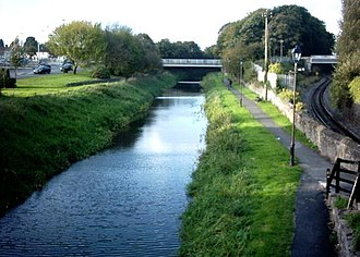 County Westmeath - Canal at Mullingar