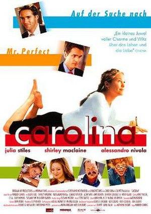 Carolina (2003 film) - German theatrical poster
