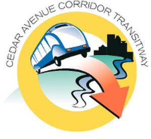 Metro Red Line (Minnesota) - Corridor logo from 2007