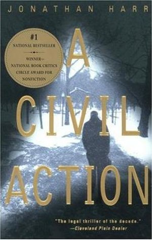A Civil Action - Cover to the paperback edition