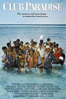 <i>Club Paradise</i> 1986 film by Harold Ramis