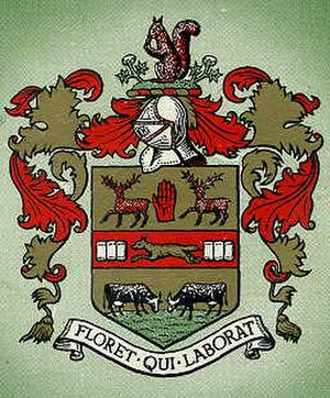 Rawtenstall - The coat of arms of the former Rawtenstall Borough Council