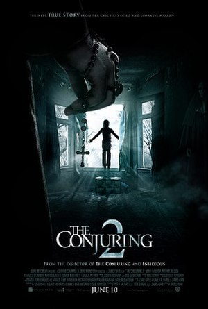The Conjuring 2 - Theatrical release poster