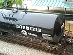 Tate & Lyle brand Corn Syrup being moved by tank car