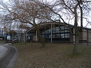 Derby Moor Community Sports College - Cromford building before the school was rebuilt.