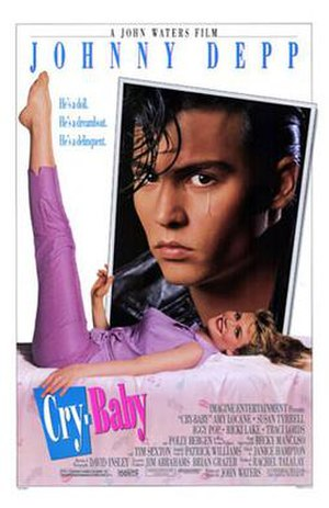 Cry-Baby - Theatrical release poster