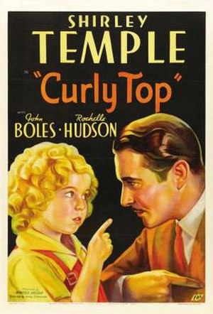 Curly Top (film) - Film poster by Joseph A. Maturo