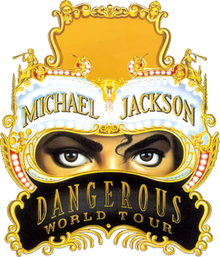 Dangerous World Tour Michael Jackson Tour Emblem Png