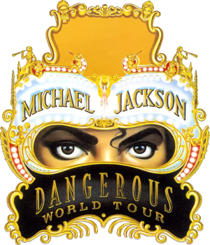 Dangerous World Tour - Image: Dangerous World Tour (Michael Jackson tour emblem)