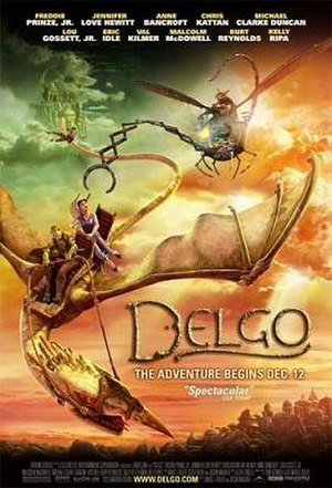 Delgo - Theatrical release poster