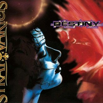 Destiny (Stratovarius album) - Image: Destiny (Stratovarius album) cover