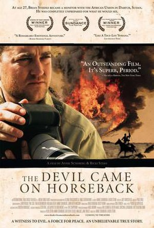 The Devil Came on Horseback - Theatrical release poster