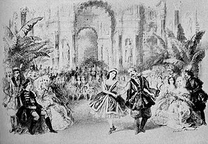 Le diable à quatre (ballet) - Image: Diable a Quatre Lithograph 1845 2