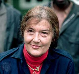 Dian Fossey in November 1985; photograph by Ya...