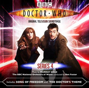 Doctor Who: Series 4 (soundtrack) - Image: Doctor Who series 4 soundtrack
