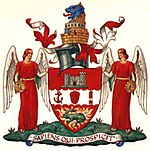 Arms of Dudley County Borough Council