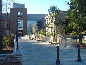 Duke University School of Law - The present location of the Duke University School of Law, on Science Drive