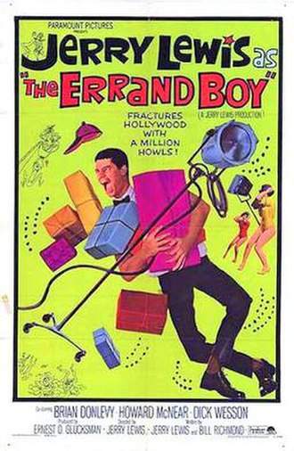 The Errand Boy - 1961 Theatrical Poster