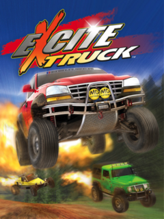 <i>Excite Truck</i> Racing video game first published by Nintendo in 2006
