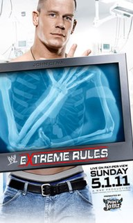 Extreme Rules (2011) 2011 WWE pay-per-view event